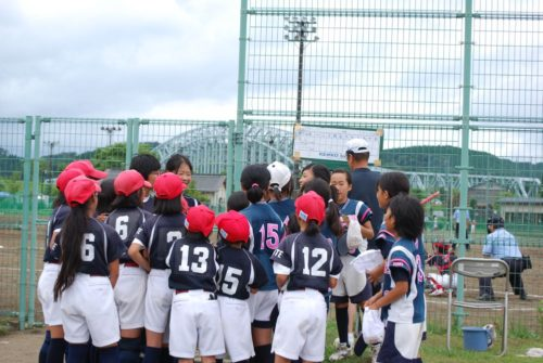 第9回ミズノカップ東日本小学生女子ソフトボール大会交流戦 vs室根SBC戦