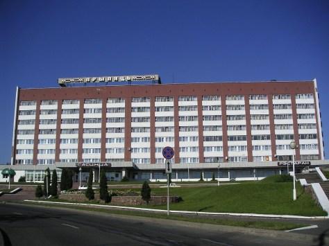 モズィリ市のホテル「プリピャチ」