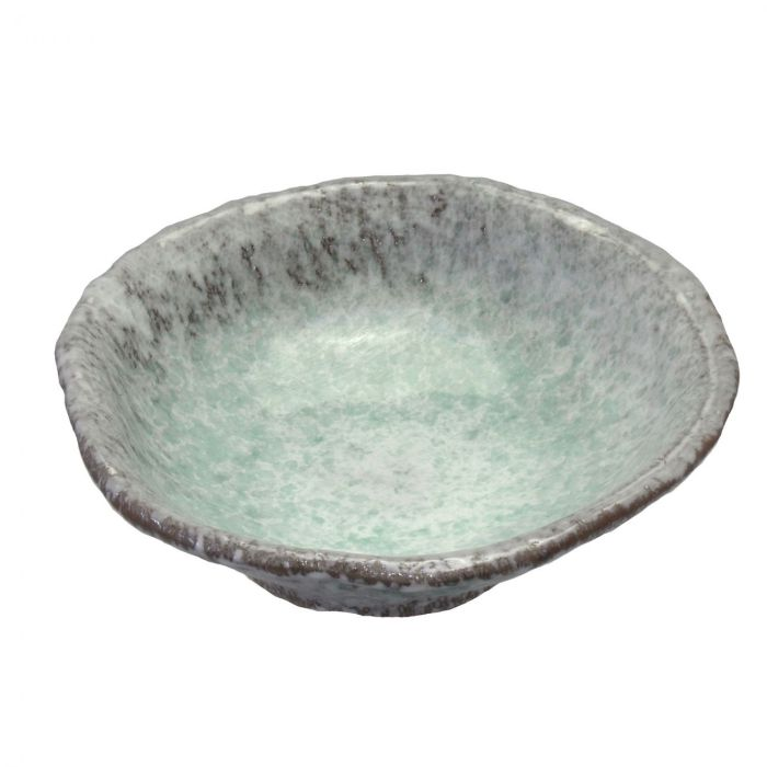 Aoyu Green Warp Bowl L
