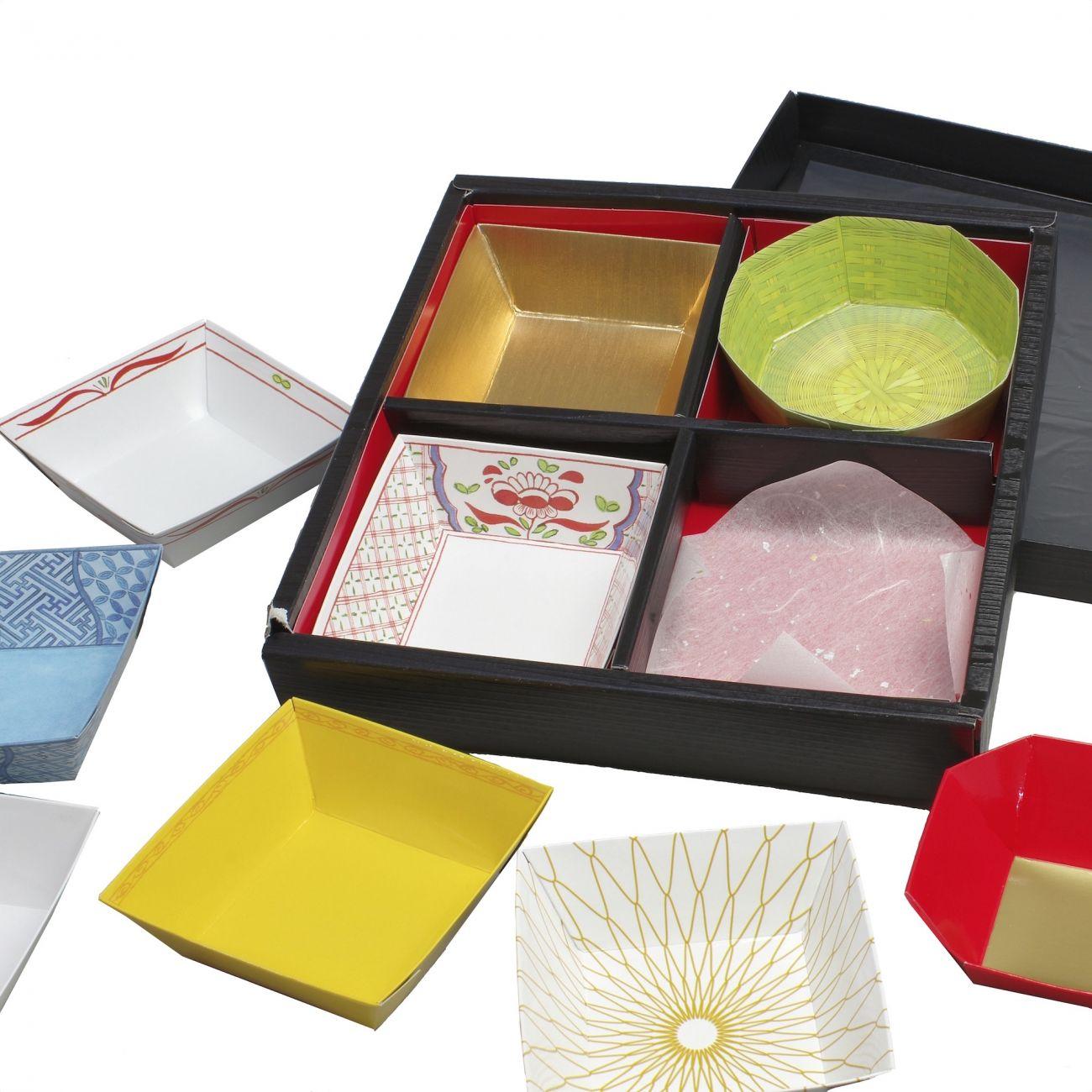 Shokado Style Disposable Paper Box Outer L