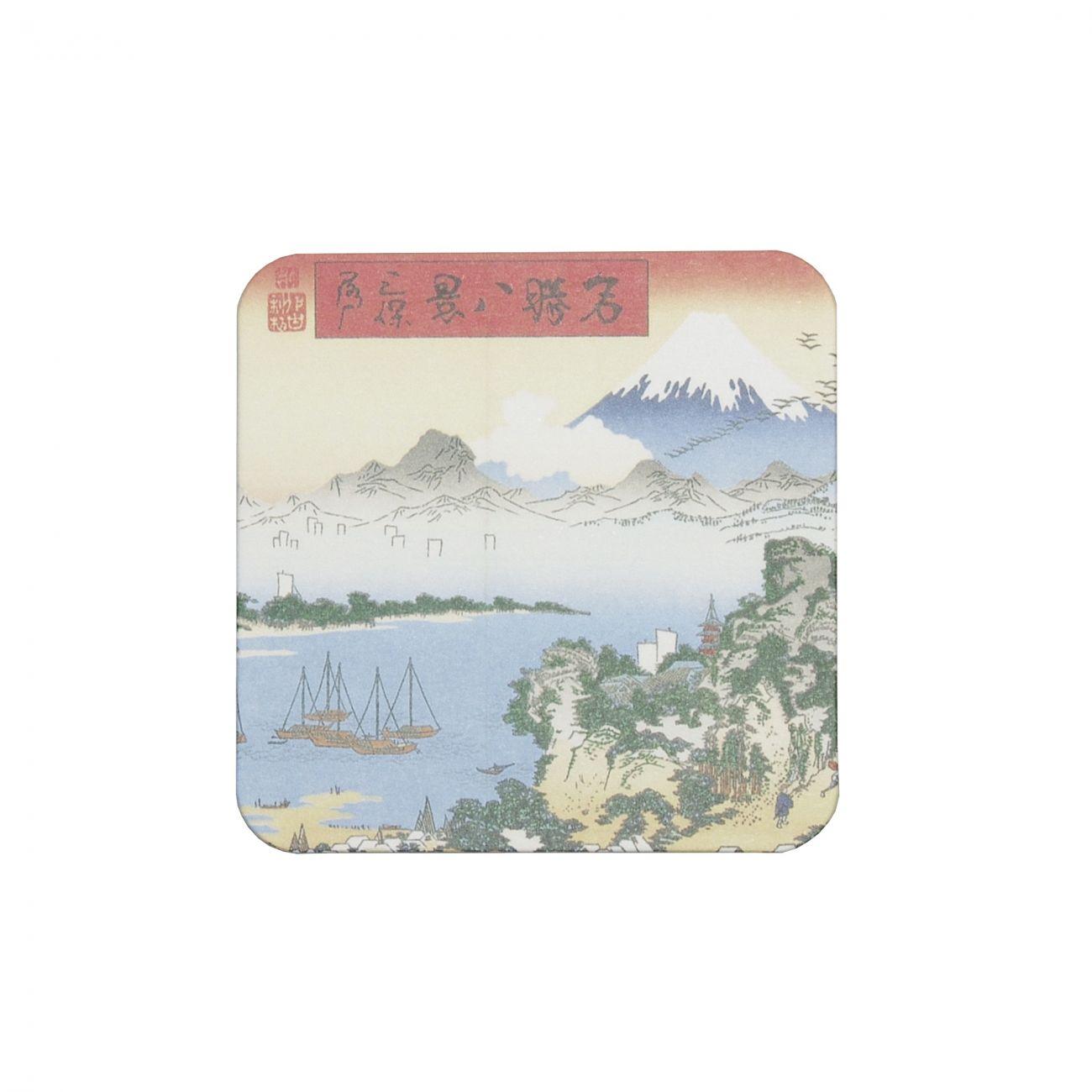 Ukiyoe Coaster Fuji