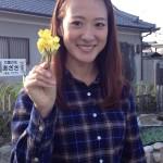奈良テレビ取材in三宅町 岩田泉さん
