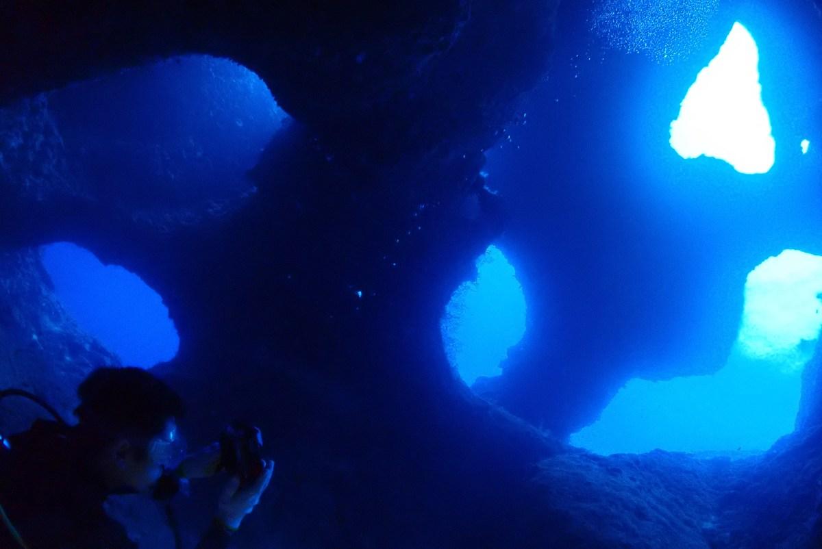 下地でファンダイビングに体験ダイビング