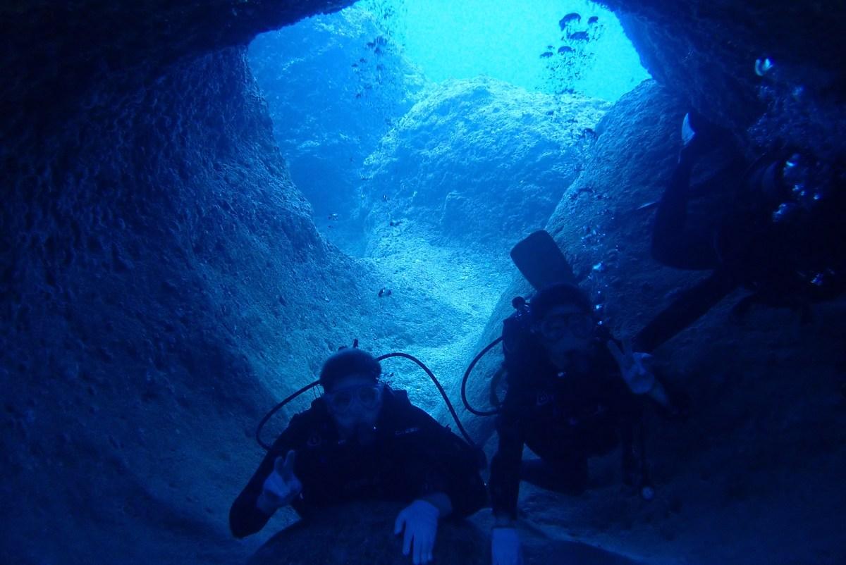 伊良部へ体験ダイビング
