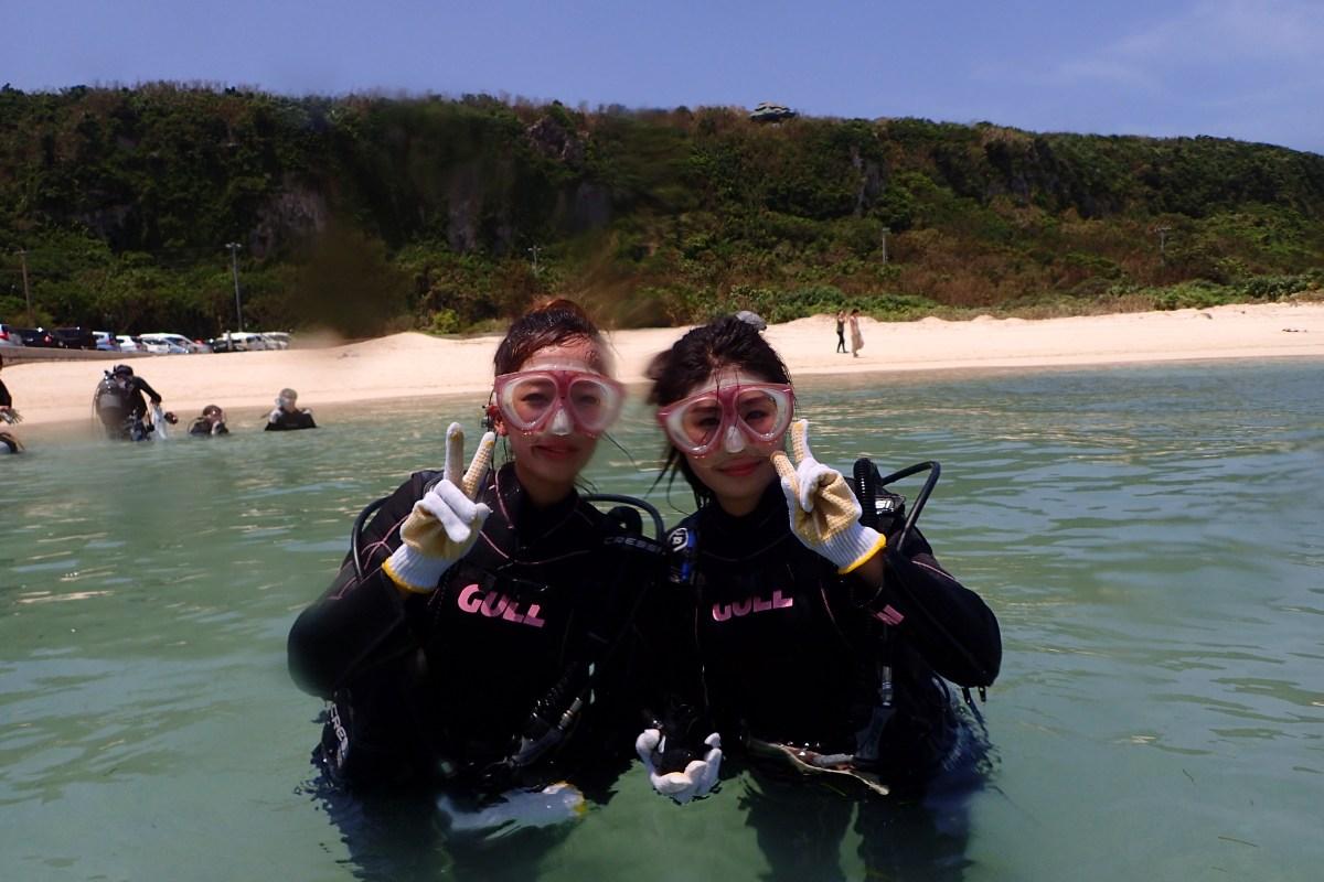 来間島ビーチ・体験ダイビング