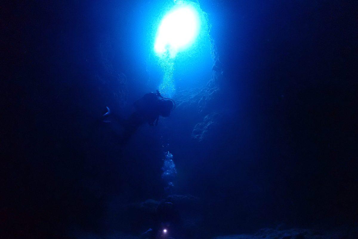 ファンダイビングと体験ダイビングで下地へ