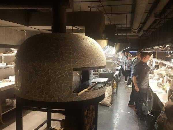 Печь на дровах для приготовления пиццы в ресторанах, баре, кафе!