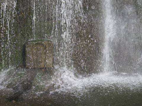 香川県三豊市「不動の滝」