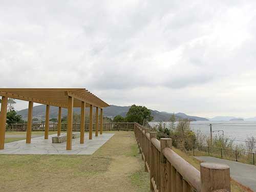 源平の里むれの房前公園から見る瀬戸内海