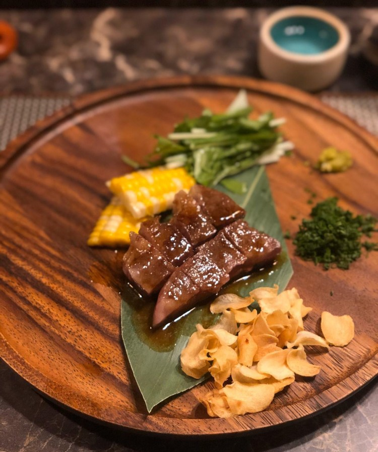 Omakase at Miyu - Wagyu Beef