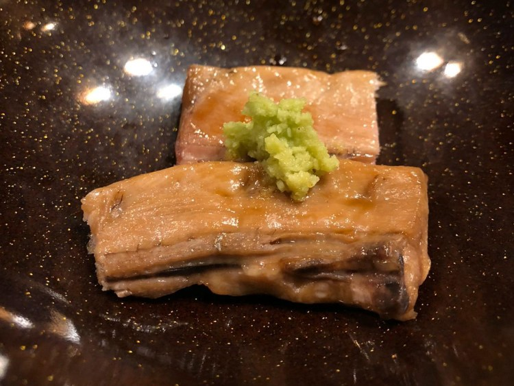 Omakase at Miyu - Broiled Fatty Tuna