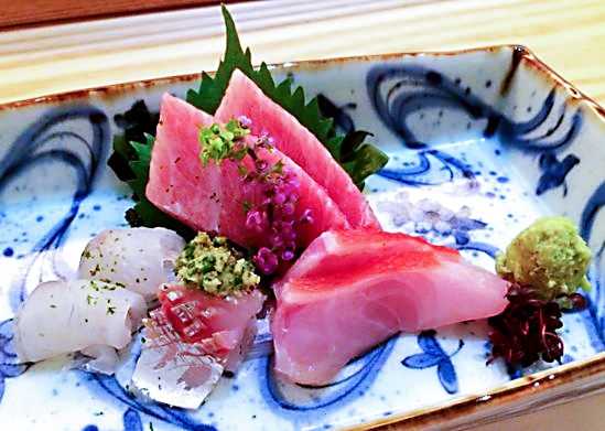 Seasonal sashimi sourced from around the world and delivered daily for freshest quality.