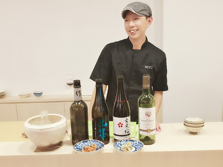 Executive Chef Ng Kam Kwan of Miyu