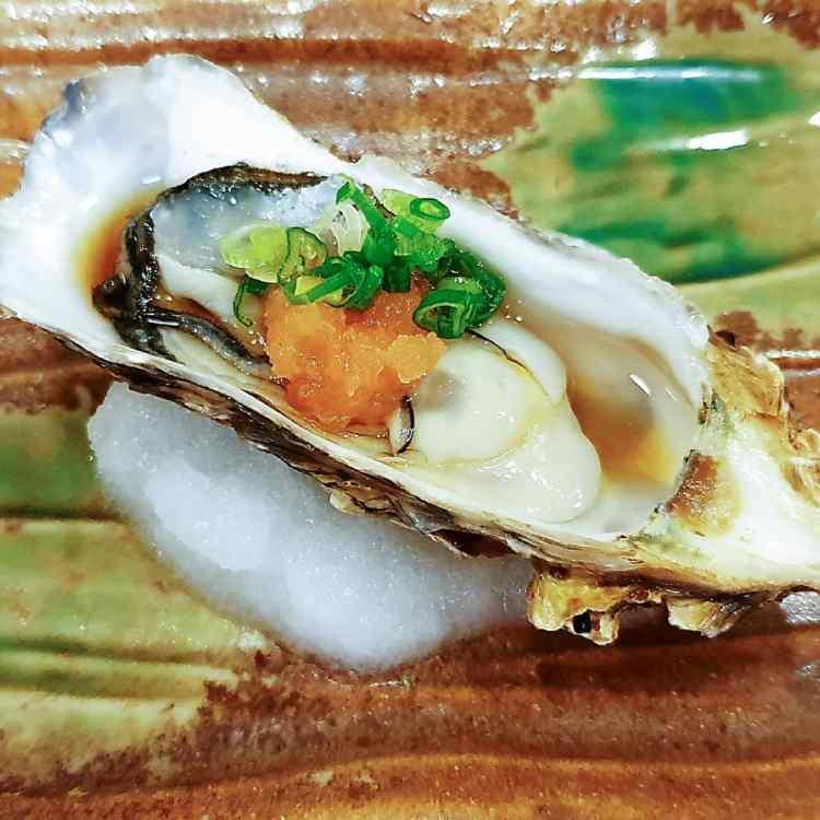 Oysters at Miyu