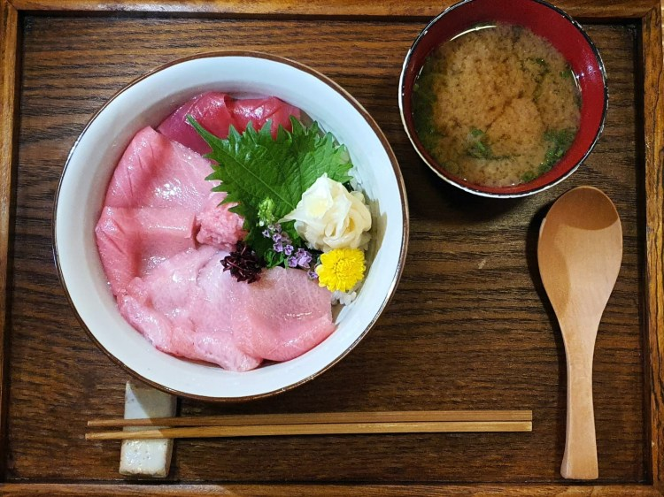 3 Cuts Tuna Chirashi Don by Miyu Japanese Restaurant at Duxton Road, Tanjong Pagar
