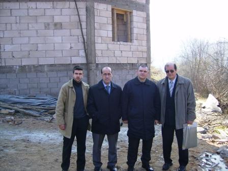 Predstavnici MIZ Bijeljina u Bratuncu