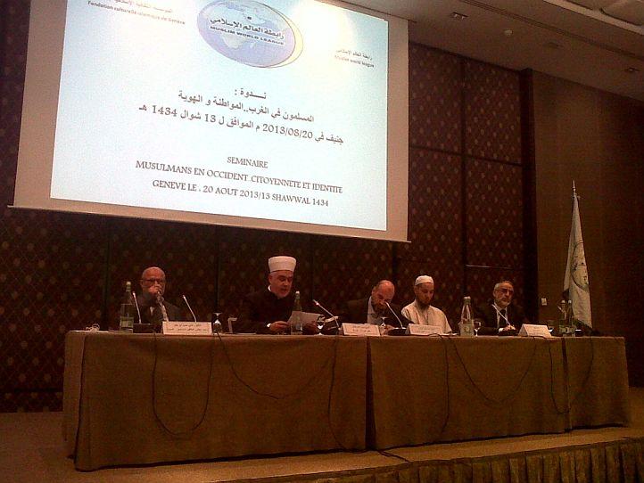 """Reisu-l-ulema na simpoziju """"Muslimani na Zapadu – građanstvo i identitet"""""""