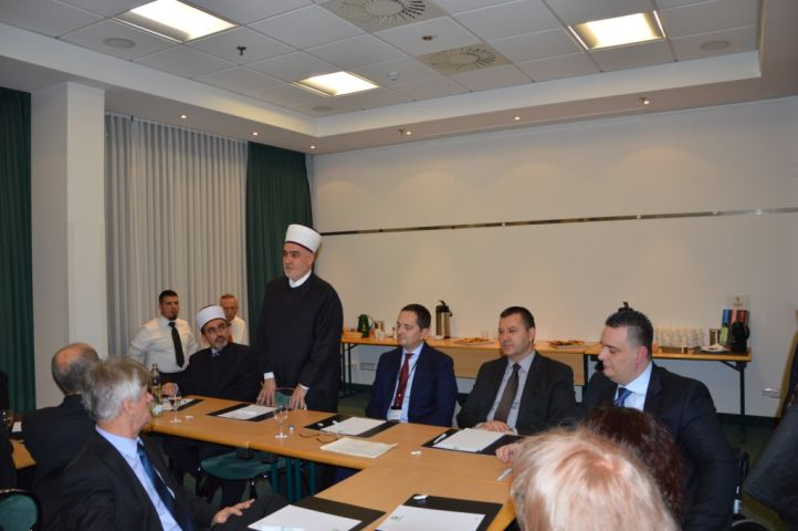 Reisu-l-ulema prisustvovao proširenoj sjednici Sabora IZ Bošnjaka u Njemačkoj