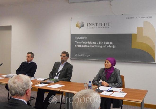 Okrugli sto o tumačenju islama i ulozi organizacija islamskog određenja