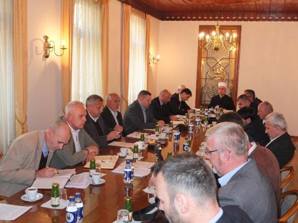 Održana prva sjednica Savjeta muftije tuzlanskog