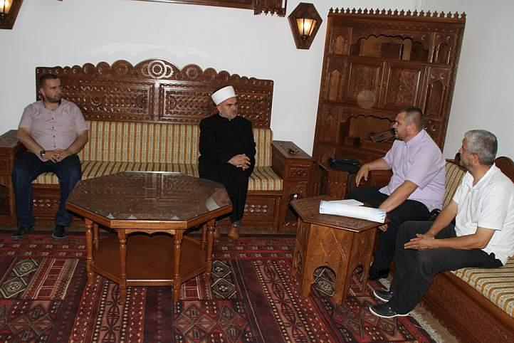 Muftija Dudić primio predstavnike Medžlisa IZ-e Bijeljina