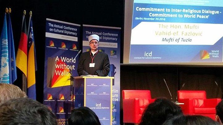 Muftija tuzlanski na Konferenciji u Berlinu