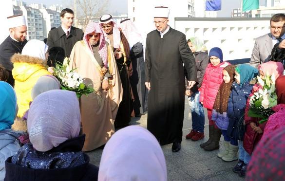 Imam i hatib Mesdžidul-harema u Mekki NJ.E. Salih bin Humejd gost Muftijstva tuzlanskog