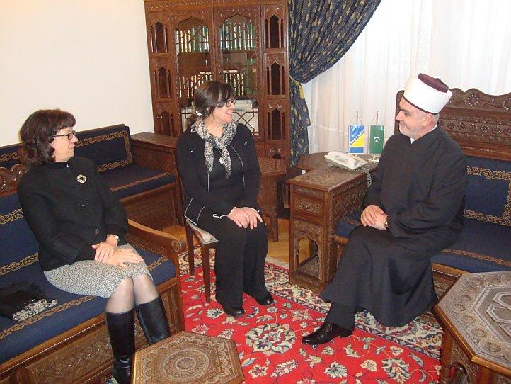 Ambasadorica SAD-a u nastupnoj posjeti kod Reisu-l-uleme