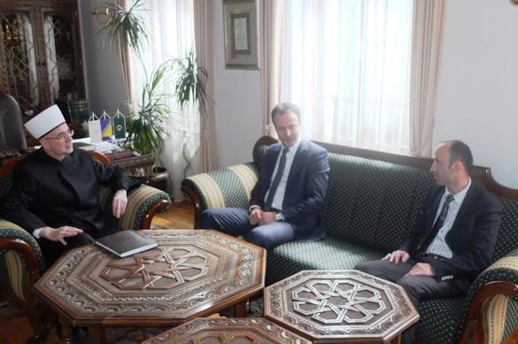 Muftija tuzlanski se susreo s gostima iz Turske