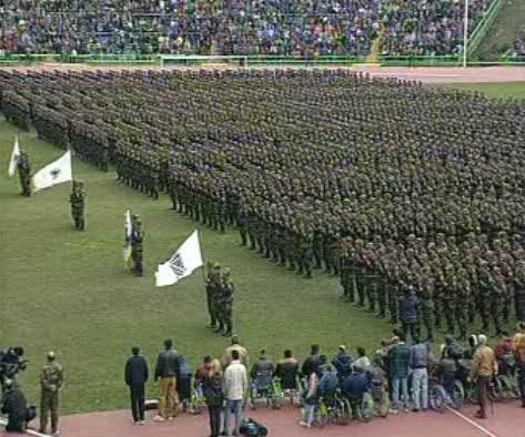 Na današnji dan, 15. aprila 1992. godine osnovana je herojska, viteška Armija Republike Bosne i Hercegovine