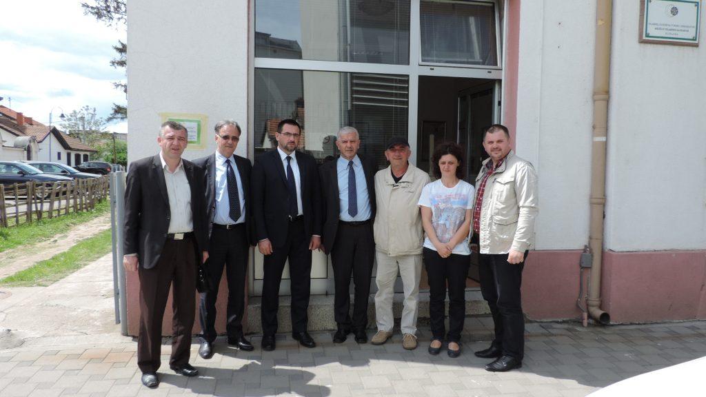 Ministar dr Edin Ramić u posjeti Semberiji