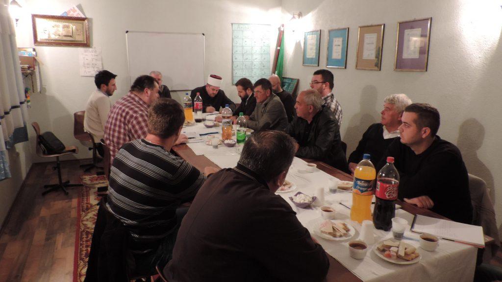 Proširena sjednica članova Izvršnog odbora, Glavnog imama, imama i mutevelija Medžlisa Islamske zajednice Bijeljina