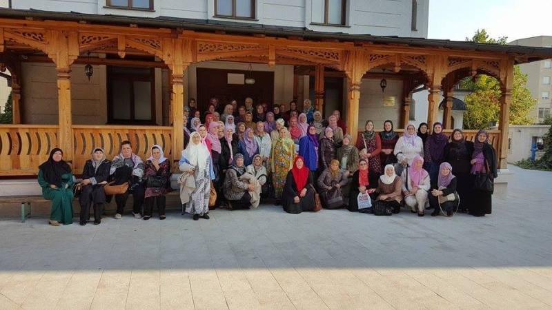 Posjeta članica udruženja žena Sumejja iz džem'ata Živinice