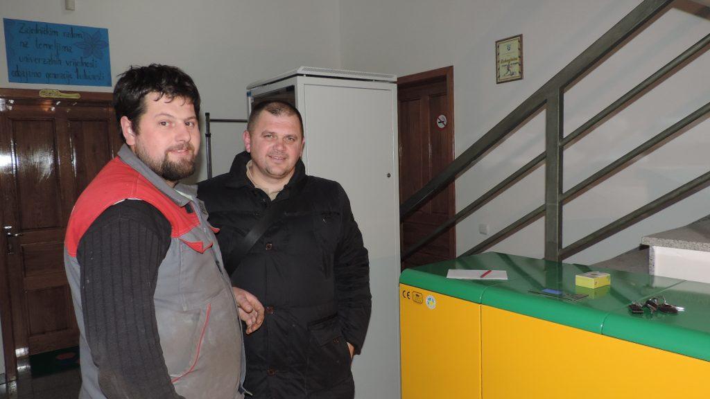 Grijanje na pelet u Mektebskom centru Bijeljina