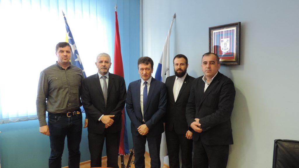 Predstavnici MIZ Bijeljina na sastanku sa načelnikom općine Ugljevik