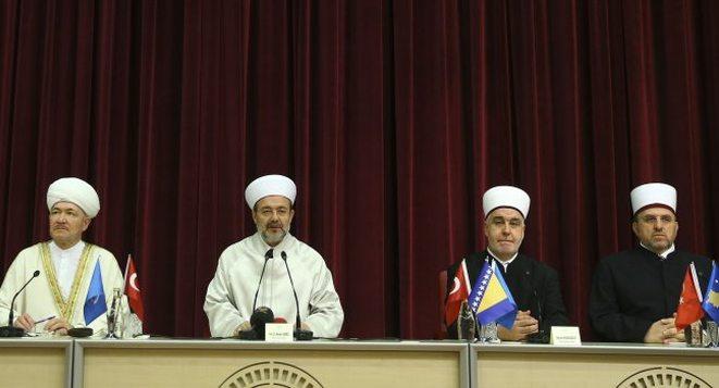 Reisu-l-ulema na sastanku vjerskih poglavara u Ankari