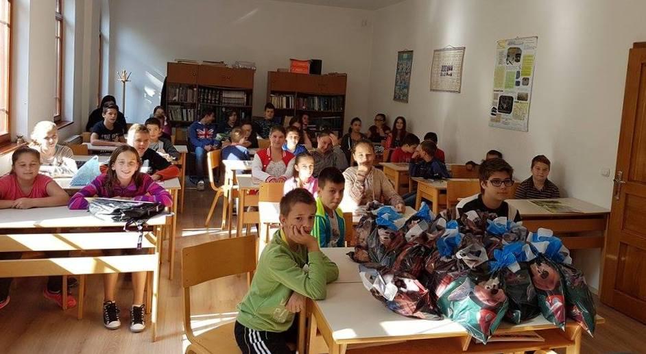 Paketići sa polaznike mektebske nastave u Bijeljini