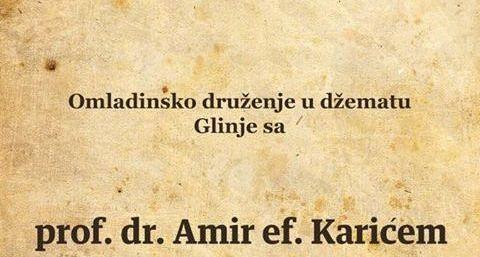 Omladinsko druženje sa prof. dr Amir ef. Karićem