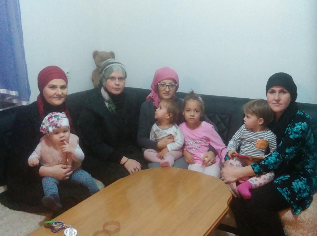 Bijeljina: Predstavnice Islamske zajednice posjetile porodicu rahmetli Alana ef. Hrustića