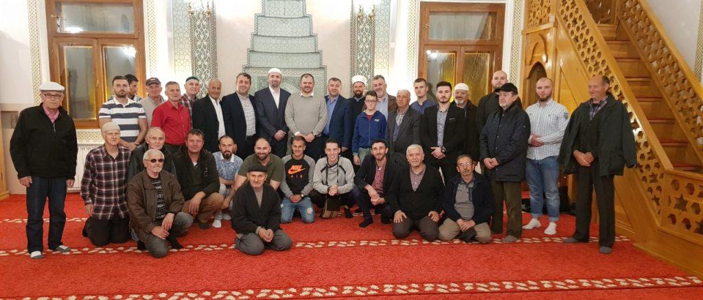 Dragi musafiri sa Sandžaka u Sultan Sulejmanovoj Atik džamiji