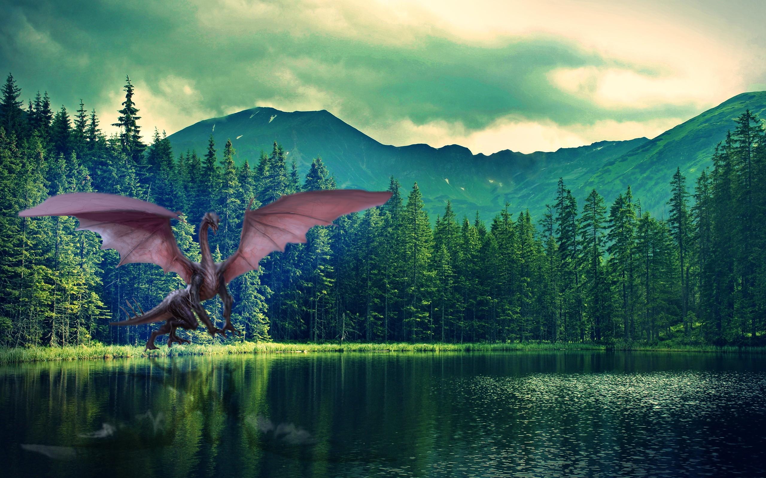 Mythical landscape designs  Matthew Dallas