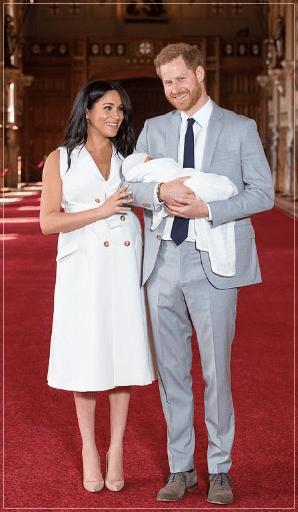 メーガン妃,ハリー王子,ヘンリー王子,アーチー,ロイヤル,王室,イギリス,第一子,出産後,お腹,比較画像,女性,お披露目5月6日,誕生