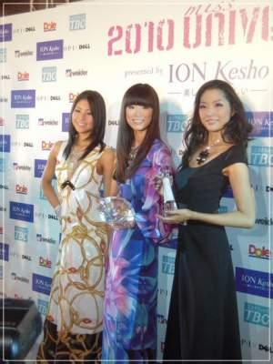 2010年のミスユニバースジャパンで3位に輝いた福田萌子さん