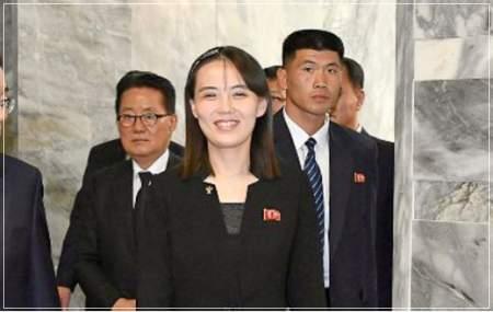 金正恩党委員長の実の妹で後継者候補の金与正の画像