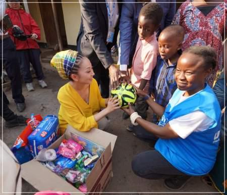 MISIAのアフリカ支援の様子画像