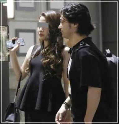 山田孝之と嫁の2ショット画像