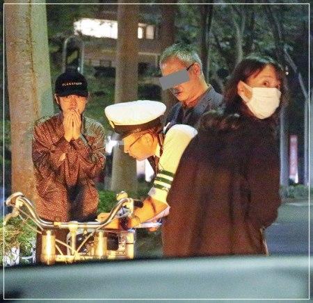 戸田恵梨香と元彼・成田凌が事故を起こしてしまった際の2ショット画像