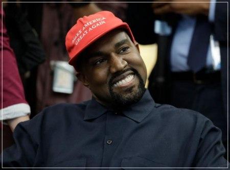 アメリカ大統領選に立候補したカニエウェストの顔画像