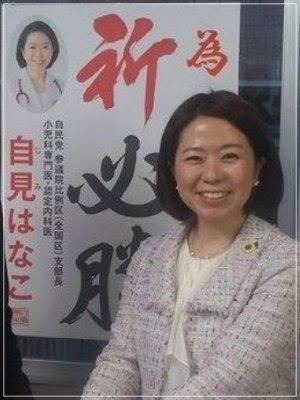 自見英子(じみはなこ)政務官の顔画像