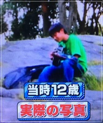 アメリカNYセントラルパークで路上ライブをする12歳の頃の中川大志の画像